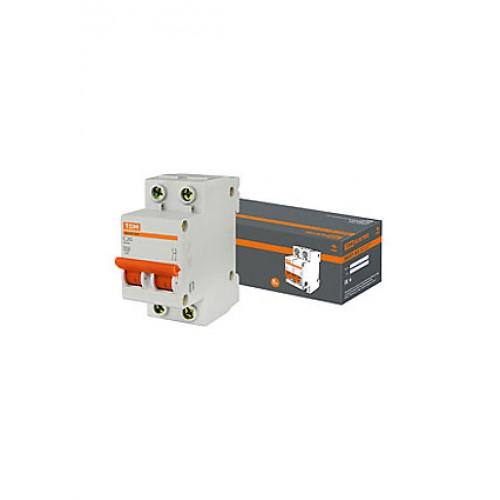 Авт. выкл.ВА47-63 2Р 20А 4,5кА х-ка С TDM SQ0218-0027