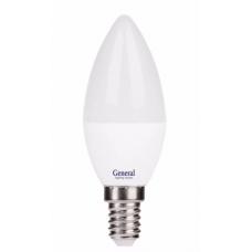 Лампа светодиодная GLDEN-CF-P-8-230-E14-4500 650003