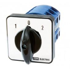 Кулачковый переключатель КПУ11-10/51 (1-0-2 1р) TDM SQ0715-0166