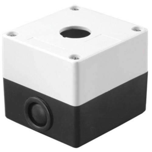 Корпус КП101 для кнопок 1место белый TDM SQ0705-0001