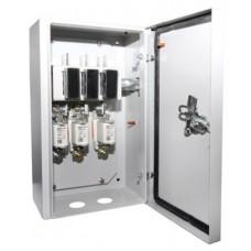 Ящик с рубильником и предохранителями ЯРП-П-400А IP54 (с ППНН) перекидной TDM SQ1602-0007