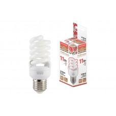 Лампа люминесцентная НЛ-FSТ2-11 Вт-2700 К–Е27 (42х93 мм) SQ0347-0019