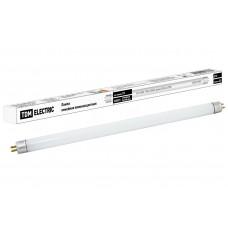 Лампа люминесцентная линейная двухцокольная ЛЛ-12/8Вт, T4/G5, 4000 К, длина 339,4мм TDM SQ0355-0003