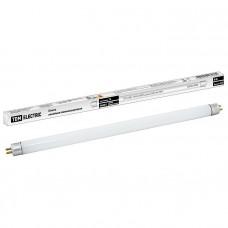 Лампа люминесцентная линейная двухцокольная ЛЛ-12/8Вт, T4/G5, 6500 К, длина 339,4мм TDM SQ0355-0004