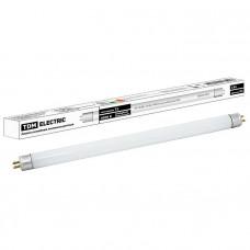 Лампа люминесцентная линейная двухцокольная ЛЛ-16/6 Вт, T5/G5, 4000 К, длина 226,3мм TDM SQ0355-0015
