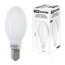 Лампа ртутная высокого давления прямого включения ДРВ 500 Вт Е40 TDM SQ0325-0021