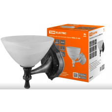 Светильник НББ 21-60-1731 УХЛ4 (черный под серебро, плафон конус алебастр) TDM SQ0370-0208