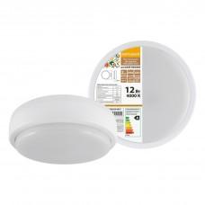 Светодиодный светильник LED ДПП 2901 12Вт 990 лм 4000К IP65 белый круг 160*48 мм Народный SQ0329-0810