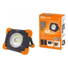 Прожектор переносной светодиодный ФП6, 20 Вт, 1800 лм, Li-Ion 3,7 B 6,6 A*ч, USB, TDM SQ0350-0056