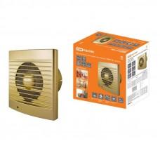 Вентилятор бытовой настенный 150 С-4, золото TDM SQ1807-0121