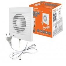 Вентилятор бытовой настенный 100 СВп, с выключателем и проводом 1,3 м, TDM SQ1807-0013