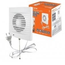 Вентилятор бытовой настенный 120 СВп, с выключателем и проводом 1,3 м, TDM SQ1807-0014