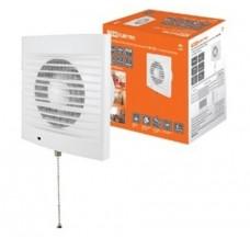 Вентилятор бытовой настенный 100 СВ, с выключателем, TDM SQ1807-0016