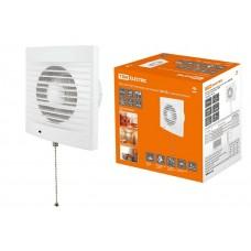Вентилятор бытовой настенный 150 СВ, с выключателем, TDM SQ1807-0018