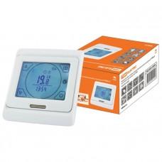 Термостат для теплых полов электронный сенсорный ТТПЭ-2 16А 250В с датчиком 3м TDM SQ2503-0002