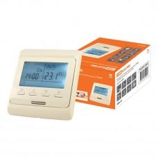 Термостат для теплых полов электронный ТТПЭ-1 16А 250В с датчиком 3м сл. костьTDM SQ2503-0003