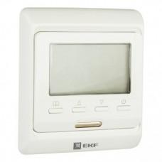 Термостат для теплых полов электронный 16 A 230В с датчиком пола  EKF Proxima ett-1