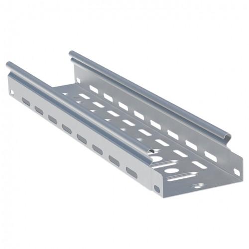Лоток перфорированный металлический 35х100х3000-0,7мм (24 м) EKF L3510001