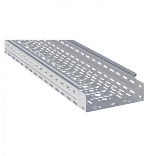Лоток перфорированный металлический 80х200х3000-0,8мм (12м) EKF L8020001