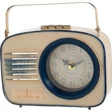Часы Радио, 21x6x16см, кремовый 5500011723245