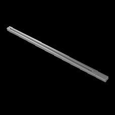 502039 Трек двухконтактный однофазный BARRA, длина 3м, СЕРЫЙ  (питание и заглушка в комплекте) 502039