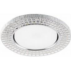 CD4028 Светильник встраиваемый, 20LED*2835 SMD 4000K, 11W GX53, без лампы, прозрачный, хром 32651