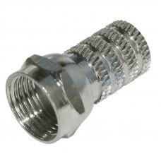 F-разъем RG-59, L=19 мм,  цинк  PROconnect 05-4002-4