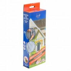 Москитная сетка для двери с магнитным замком 210х90 см  Сивка Бурка 71-0204