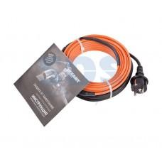 Греющий саморегулирующийся кабель (комплект в трубу) 10HTM2-CT ( 6м/60Вт)  REXANT 51-0603