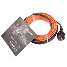 Греющий саморегулирующийся кабель (комплект в трубу) 10HTM2-CT (10м/100Вт)  REXANT 51-0605