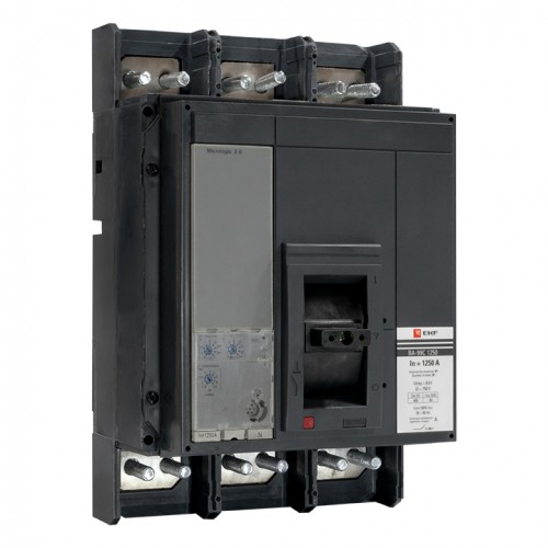 Выключатель автоматический ВА-99C (Compact NS) 1250/1250А 3P 50кА EKF PROxima mccb99C-1250-1250
