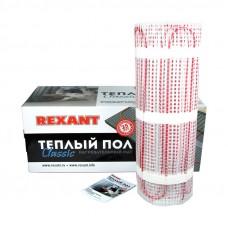 Тёплый пол (нагревательный мат) REXANT Classic RNX-13,0-1950 (площадь 13,0 м2 (0,5 х 26,0 м)), 1950 Вт, двухжильный с экраном 51-0525-2