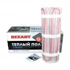 Тёплый пол (нагревательный мат) REXANT Classic RNX-15,0-2250 (площадь 15,0 м2 (0,5 х 30,0 м)), 2250 Вт, двухжильный с экраном 51-0527-2