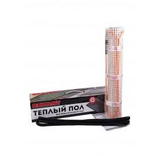 Теплый пол (нагревательный мат) REXANT Extra, площадь 2,5 м2 (0,5 х 5,0 метров), 400Вт, (двух жильный) 51-0505
