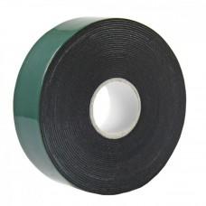Двухсторонний скотч REXANT, черная, вспененная ЭВА основа, 25 мм, ролик 5 м 09-6125