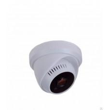 Купольная камера AHD 1.0Мп (720P), объектив 2.8 мм., встроенный микрофон, ИК до 20 м. 45-0155