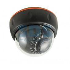 Купольная камера AHD 2.0Мп (1080P), объектив 2.8-12 мм., ИК до 30 м. 45-0260