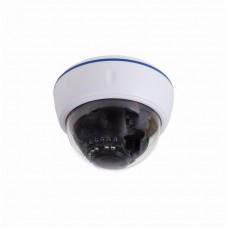 Купольная камера AHD 2.1Мп Full HD (1080P), объектив 2.8-12 мм. , ИК до 30 м. (Корпус белый) 45-0266
