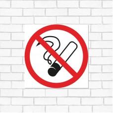 Наклейка курить запрещено 200х200 Rexant 56-0035