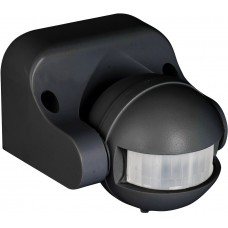 ИК датчик движения наст. 1200Вт 180гр. до 12м IP44 MS-39b черный EKF dd-ms-39b