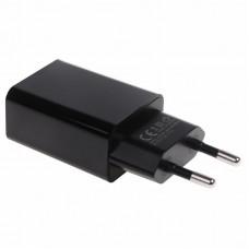 Сетевое зарядное устройство USB (СЗУ) (5 V, 2100 mA) черное REXANT 18-2221