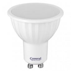 Лампа светодиодная GLDEN-MR16-7-230-GU10-4500 660310