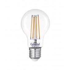 Лампа светодиодная GLDEN-A60S-15-230-E27-2700 660316