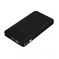 Портативное многофункциональное зарядное устройство ёмкостью 8000 мАч для компьютеров, телефонов, автомобилей. Черный. 80-2003