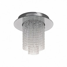 39396 Светод. потолоч. свет-к VILALONES, 10x4,3W(LED), сталь, хром/кристаллы, прозрачн. 39396