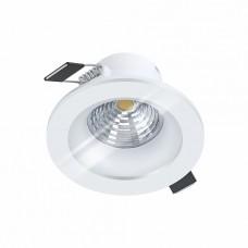 98238 Cветодиод. встраиваемый светильник SALABATE димм., 6W(LED), O88, H42, 380lm, 3000K, IP44, алюм 98238