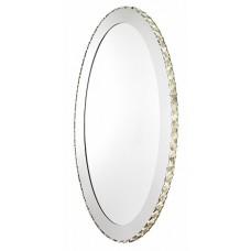 94085 Зеркало со светодиодной подсветкой TONERIA, 36W(LED), O650, сталь, хром/хрусталь 94085