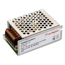 Блок питания, выход 12V 3А, мощность 35W, размеры 85x58x34 мм, входное напряжение 185-264 VAC, температура -10+50 С. Гарантия 2 года. 025332