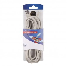 Шнур  шт. micro USB - шт. USB-A  3M  REXANT 06-3155
