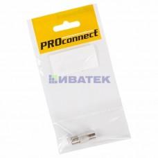 Переходник антенный, (4-гнезда F), четверник, (1шт.) (пакет)  PROconnect 05-4205-4-9